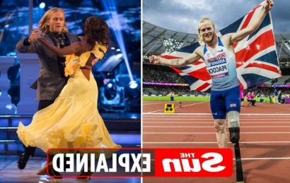 Which former Strictly stars are at the Paralympics Tokyo 2020?