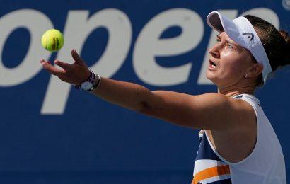 At U.S. Open, Barbora Krejcikova Makes the Most of Finally Making It