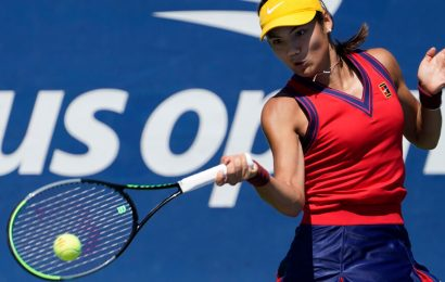At the U.S. Open, Tennis Moves on as the Kids Make Noise