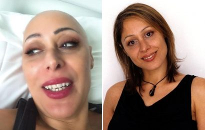 Big Brother's Becki Seddiki reveals she's battling leukemia as she shares pictures after shaving her head