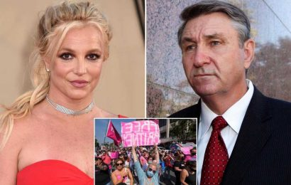 Britney Spears 'burst into tears' upon hearing judge's decision to suspend dad Jamie