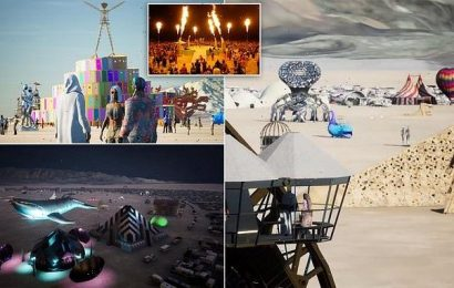 Burning Man goes virtual as millions tune in via their VR headsets