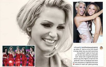 Cheryl tells Sarah Harding 'I love you… farewell' in heartbreaking tribute as Girls Aloud mourn late co-star