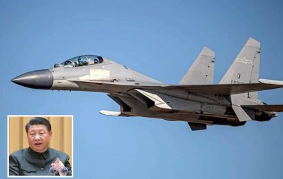 China flies 19 nuke bombers and fighter jets into Taiwan air space for 'invasion' war games sparking WW3 fears