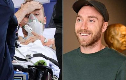 Christian Eriksen 'will have medical examination next month' in hope of training return after Denmark cardiac arrest