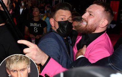 Conor McGregor Calls Machine Gun Kelly 'Vanilla Boy Rapper' After VMA Incident
