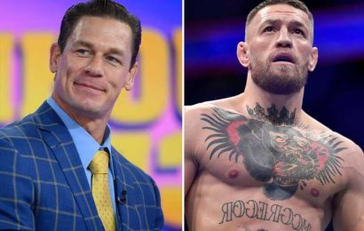 Conor McGregor would be 'fantastic' in WWE says wrestling legend John Cena who wants to see UFC star switch