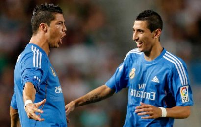 Cristiano Ronaldo and Real Madrid stars including Sergio Ramos 'fought club to try and stop them selling Angel Di Maria'