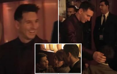 Cristiano Ronaldo's son thought Lionel Messi was 'too short' to be real as Man Utd ace's mum recalls Ballon d'Or meeting