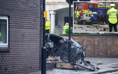 Driver screamed 'get me out' before car was engulfed in fireball