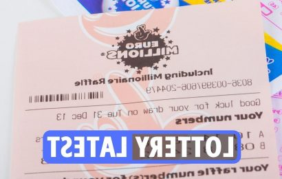 EuroMillions results LATEST: Friday jackpot now £14.1m as National Lottery Set for Life players urged to check tickets