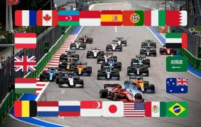F1 calendar 2021: Turkey NEXT, before USA as Qatar CONFIRMED for November – grand Prix times, schedule, tracks