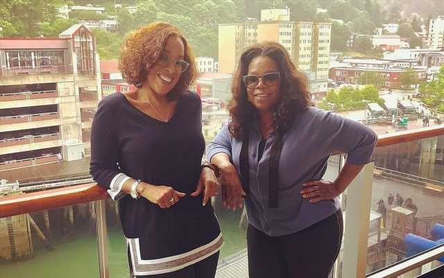 Gayle King Makes No Apologies for Playing 'Third Wheel' on Oprah's Vacations
