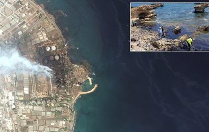 Gigantic oil slick the size of New York City could reach Cyprus today