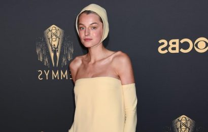 Grab My Shades — Emma Corrin Was an Actual Ray of Sunshine at the Emmys