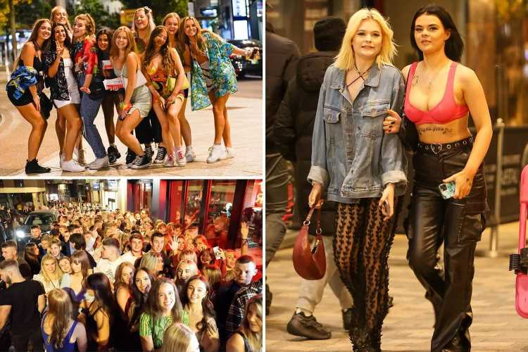 Hard-partying students hit the town and pour into bars and nightclubs as Freshers' Week begins