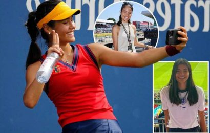 How Emma Raducanu charmed Wimbledon, gained 400,000 followers and became the fresh faced star of British tennis