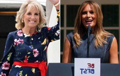 Inside Jill Biden & Melania Trumps' first lady jobs at the White House as Joe's wife returns to teaching full-time