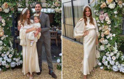 Inside pregnant Millie Mackintosh's gorgeous christening for daughter Sienna at Soho Farmhouse