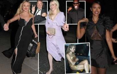 Inside the boozy GQ Awards after party as Piers Morgan, Maya Jama and Emily Atack lead the partied out celebs
