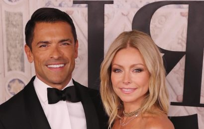 Kelly Ripa's husband Mark Consuelos has the best reaction to her incredible workout video