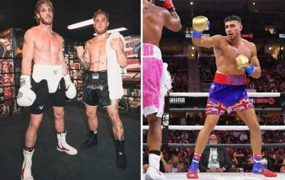 Logan Paul says Tommy Fury would get 'murdered' by brother Jake and says Love Islander is 'clearly still an amateur'