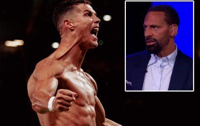 Man Utd hero Cristiano Ronaldo texted Rio Ferdinand 'I didn't play well, but I knew I'd score' after last-gasp winner