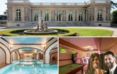 Messi is looking to rent a Paris castle called the Pink Palace worth £41m where French president stayed