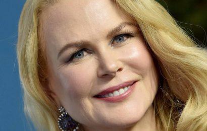 Nicole Kidman showcases her natural hair in au-natural selfie inside family home