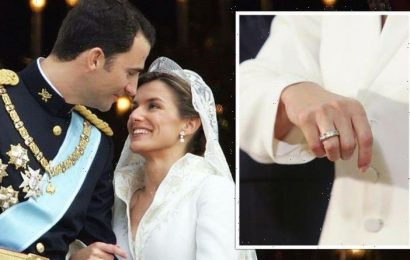 Queen Letizia's 'exceptional' £35k engagement ring she 'returned to shop' after legal case
