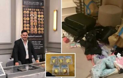 Rare coin dealer claims raiders nicked £500,000 collection from his hotel suite at London's Park Lane Hilton