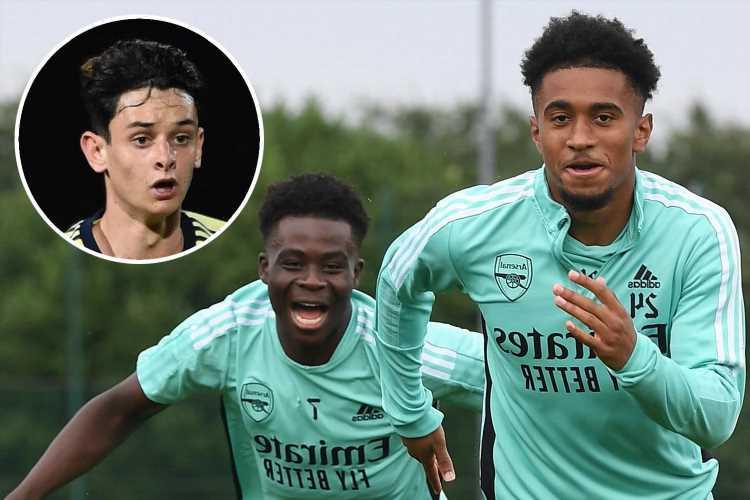 Reiss Nelson's amazing 2018 prediction for Bukayo Saka revealed as Arsenal starlet picks out his next rising wonderkid