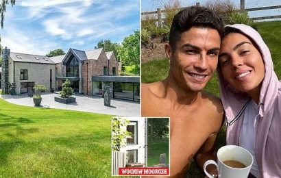 Ronaldo may have quit £6m home because fans could see into his BEDROOM