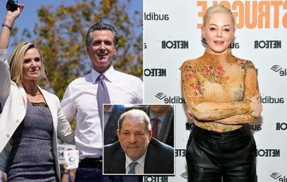 Rose McGowan claims Newsom's wife offered hush money from Weinstein