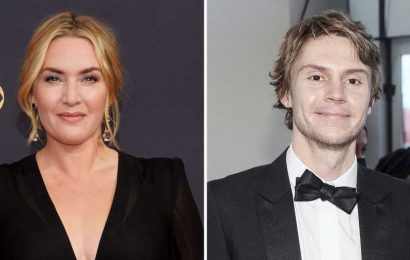 Team 'Mare'! Evan Peters Thanks Kate Winslet While Accepting His 1st Emmy