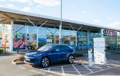 Tesco tops list of best supermarkets for electric car drivers
