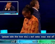 The Chase's Bradley Walsh walks off in despair after contestant makes big blunder