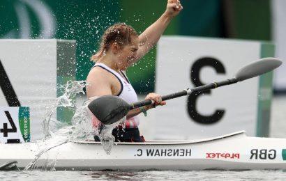 Tokyo Paralympics: Charlotte Henshaw finally reaches top of podium as para-canoe gamble pays off