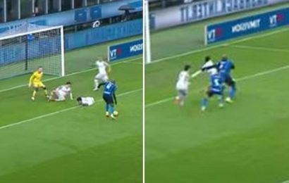 Watch Arsenal new-boy Takehiro Tomiyasu get destroyed by Chelsea's Romelu Lukaku in embarrassing Serie A clash