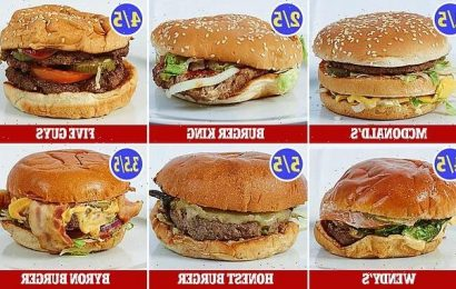 Which burger is the REAL big cheese? Meat-lovers them to the test