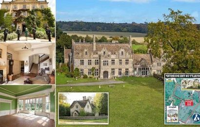 Yours for £7.5m, the estate with Charles and Camilla as neighbours