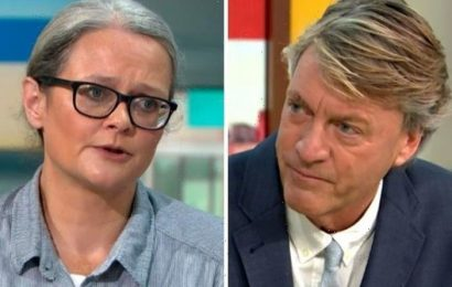 'Are you heartless!' Insulate Britain activist blasts Richard Madeley