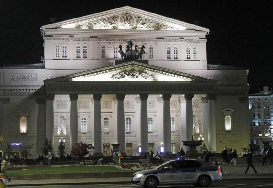 Bolshoi Theatre actor crushed to death on stage by falling scenery in front of screaming opera audience