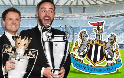 Bookies are offering odds on Ant or Dec being next Newcastle manager with Steve Bruce facing the sack