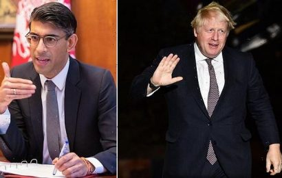Boris Johnson and Rishi Sunak cut tax deal on eve of Party conference