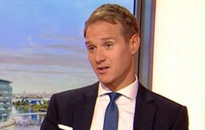 Dan Walker says he turned down a muscle suit for his Paso Doble on Strictly