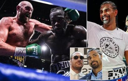 David Haye STILL wants to take on Tyson Fury after Deontay Wilder bout