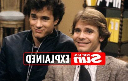 Did Peter Scolari and Tom Hanks star in Bosom Buddies together?
