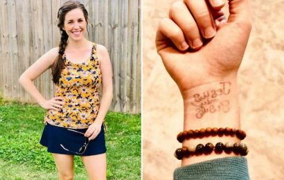 Duggar fans go wild after Jill shows off new 'TATTOO' as she continues to rebel against famous family's strict rules