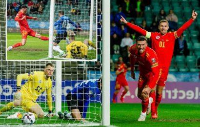 Estonia 0 Wales 1: Kieffer Moore goal seals huge World Cup qualifier win to give Robert Page's men big boost